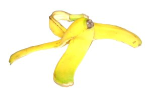 Banana Peel by Redster