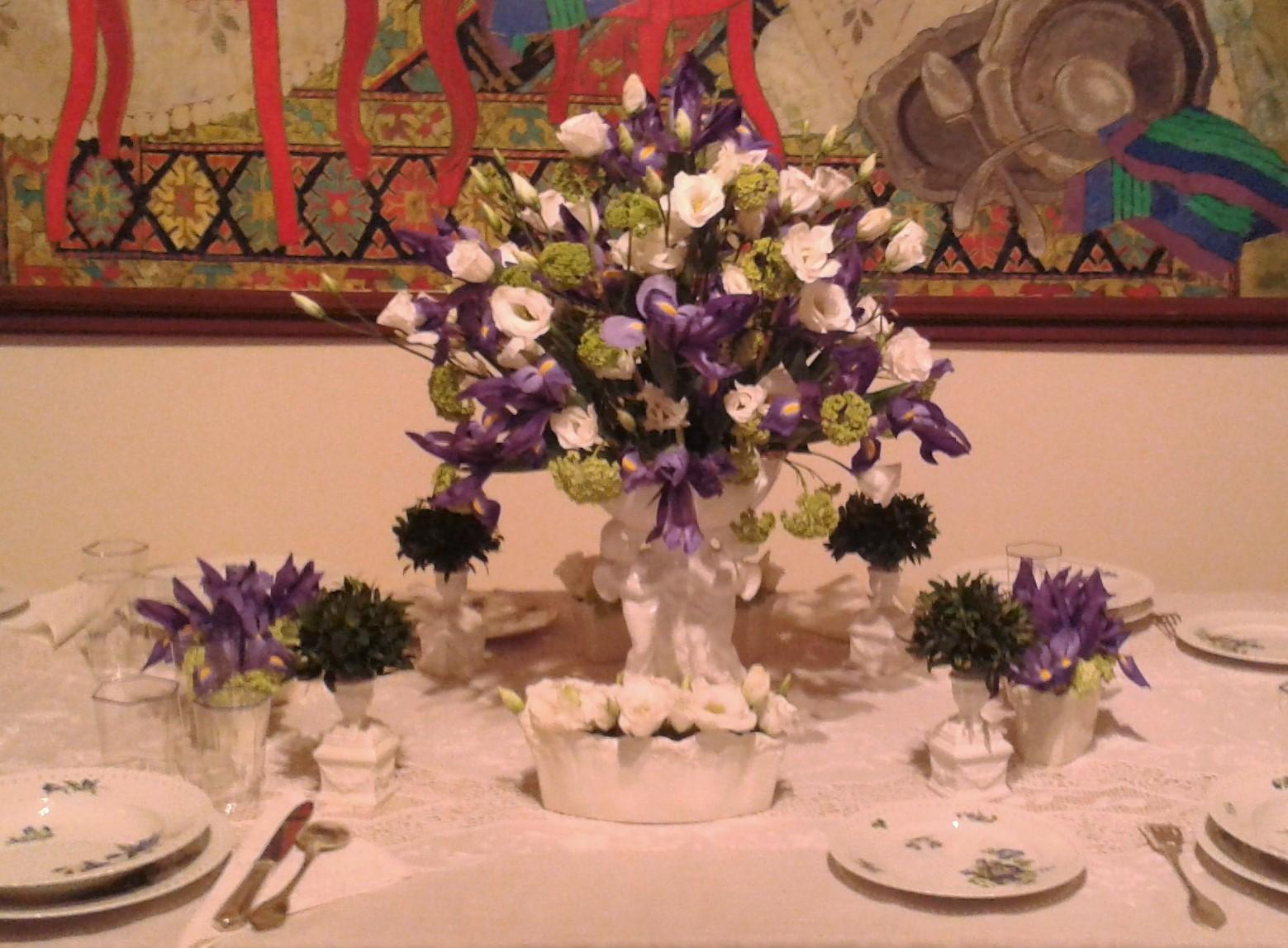 Piccoli paradisi spezie t cappellini e tavole in fiore for Piccoli piani di aggiunta a casa