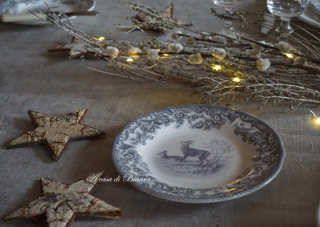 home, home decor, tablescaping, scandi, nordic style tablescape, Zara Home, a casa di Bianca, mise en place, Spode Delamere Rural