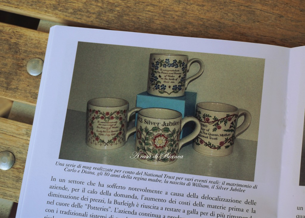 marina minelli, un tè con la Regina, The Queen, Commemorative Potteries, Royal Family