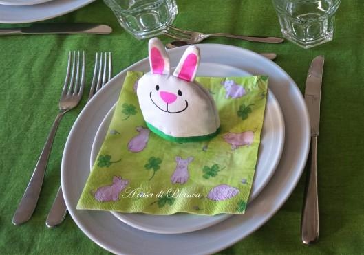 Segnaposto tavola di Pasqua bambini