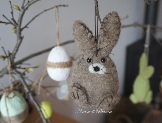 coniglio di Pasqua per albero pasquale