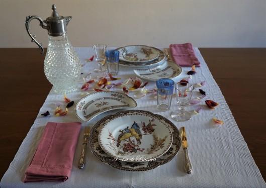tavola vintage festa della donna