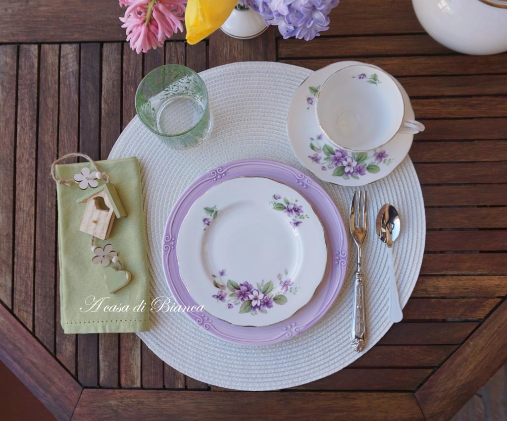 Alfresco afternoon tea