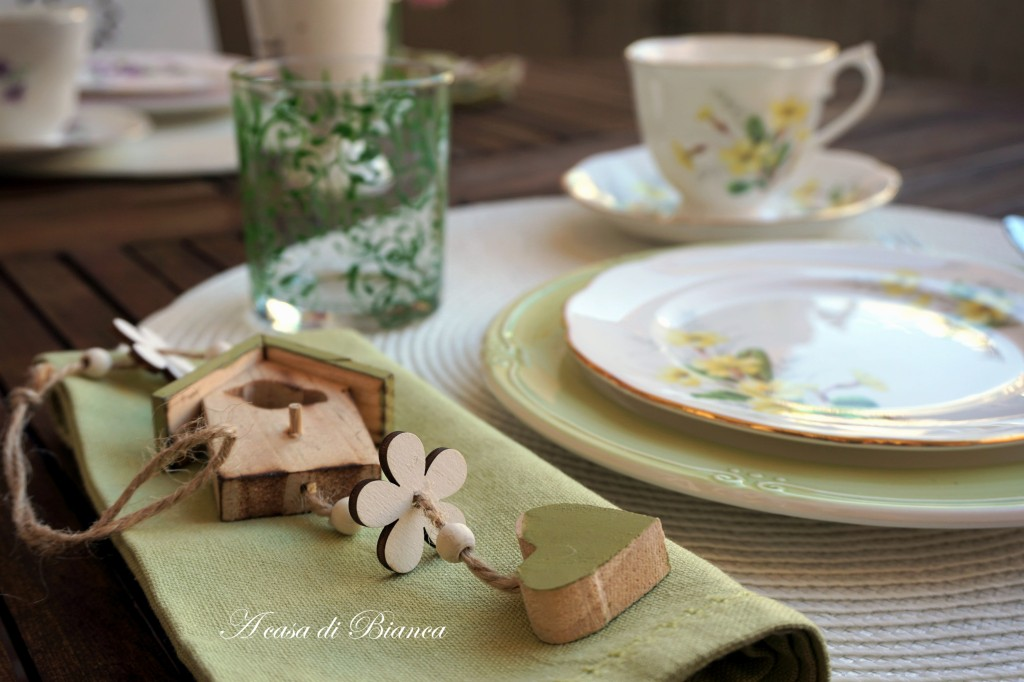 Spring Afternoon tea placemat