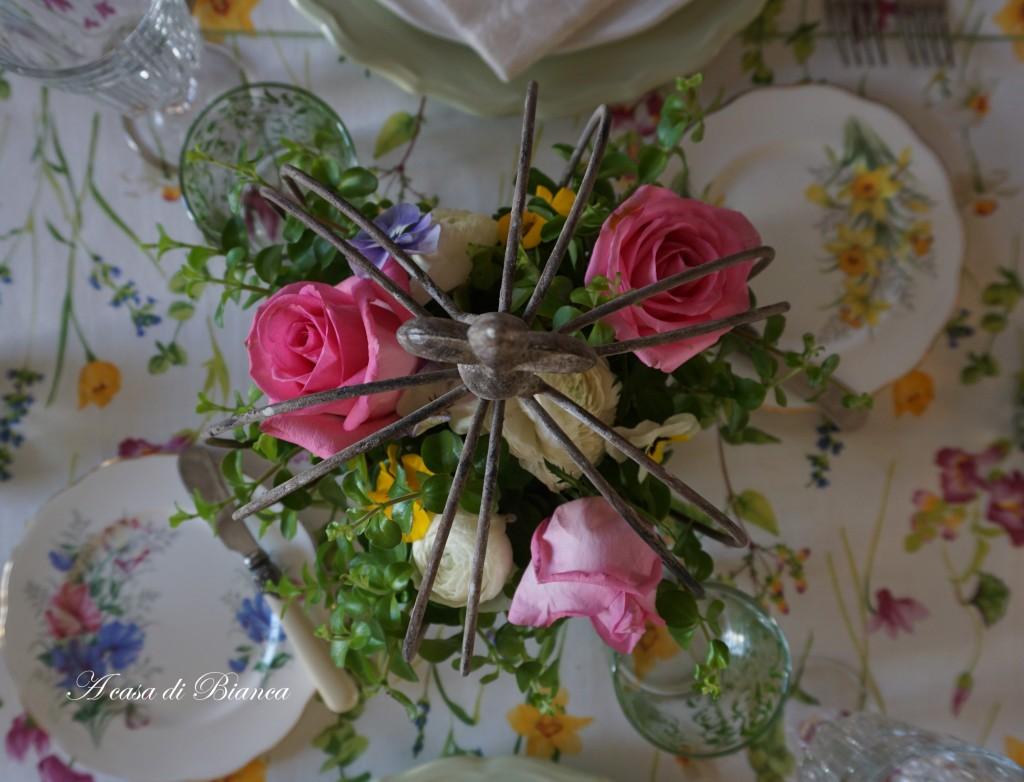 Spring tablescape blog hop a casa di Bianca