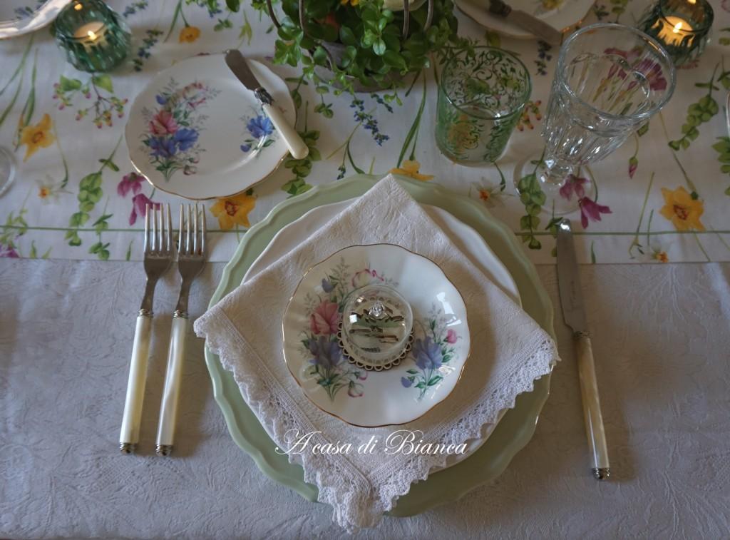 spring tablescape a casa di bianca fiori