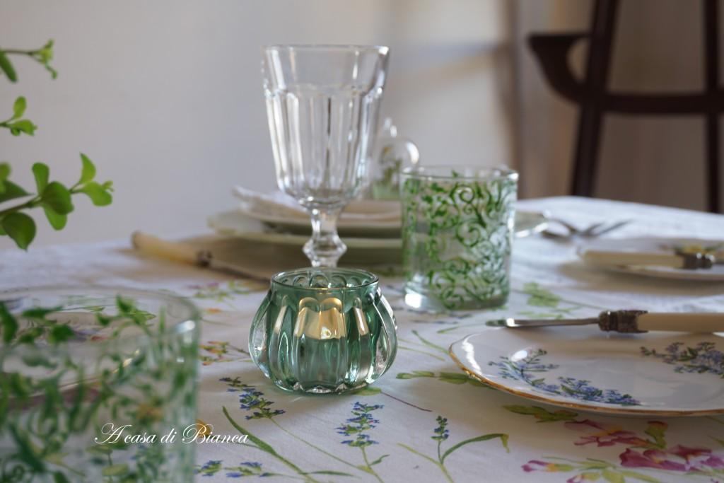Posizione Bicchieri In Tavola.Apparecchiare La Tavola Il Risiko Dei Bicchieri A Casa Di Bianca