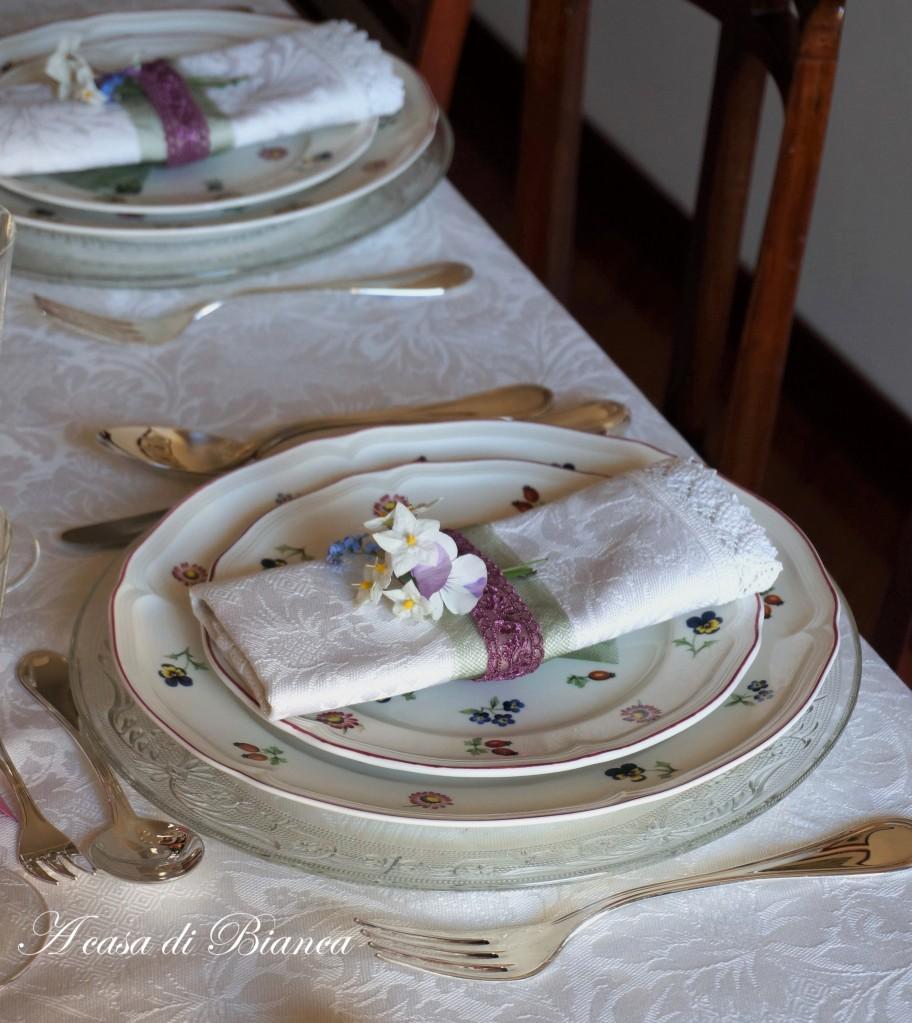 tavola di Pasqua floreale Villeroy & Bosch