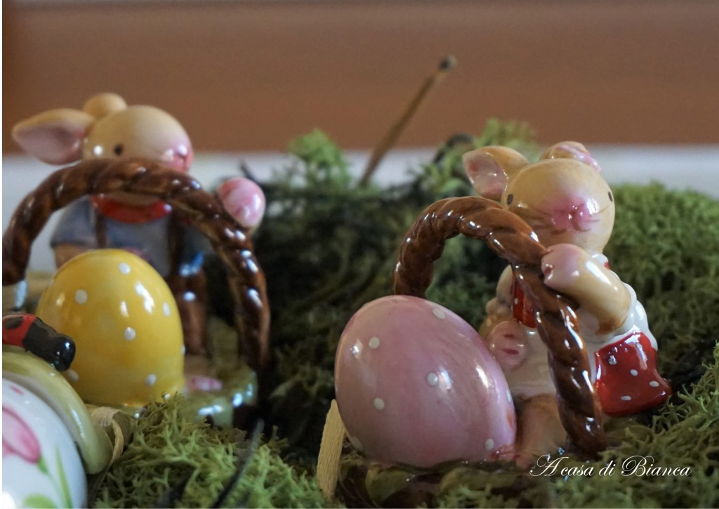 Coniglietto pasquale Villeroy & Boch a casa di Pasqua