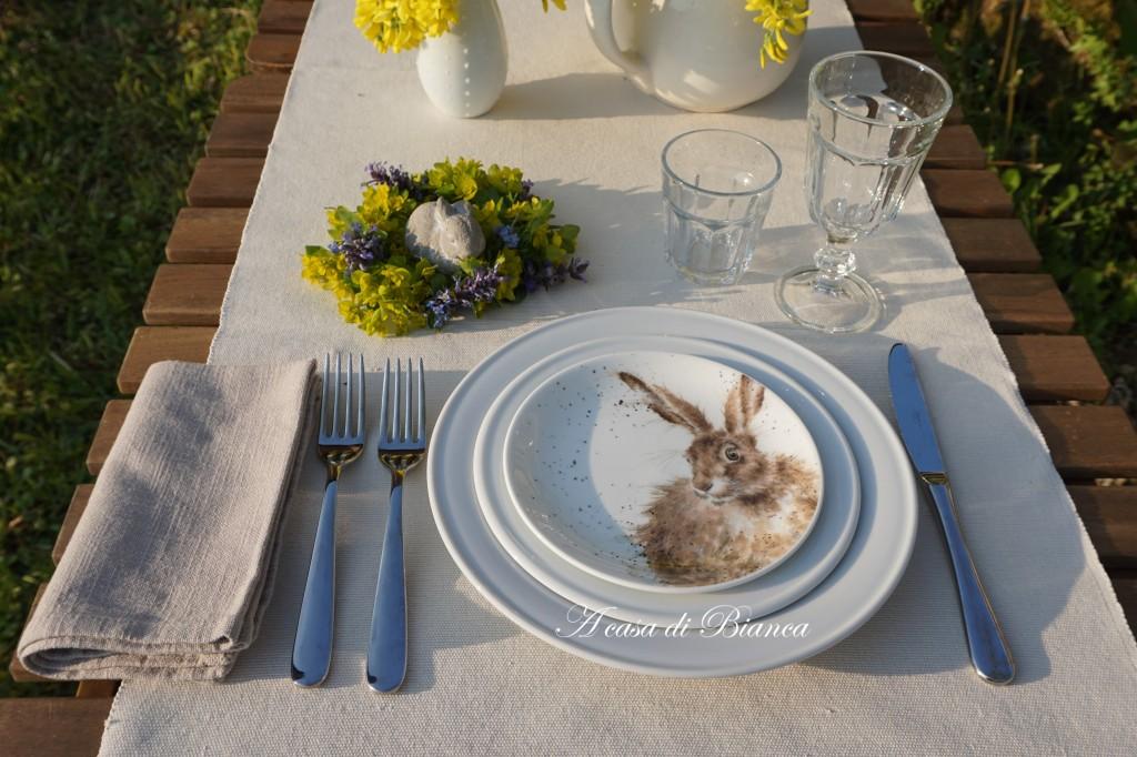 Alfresco dining al tramonto Wrendale Designs a casa di Bianca