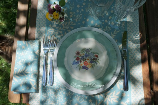 Alfresco dining countrylife a casa di Bianca