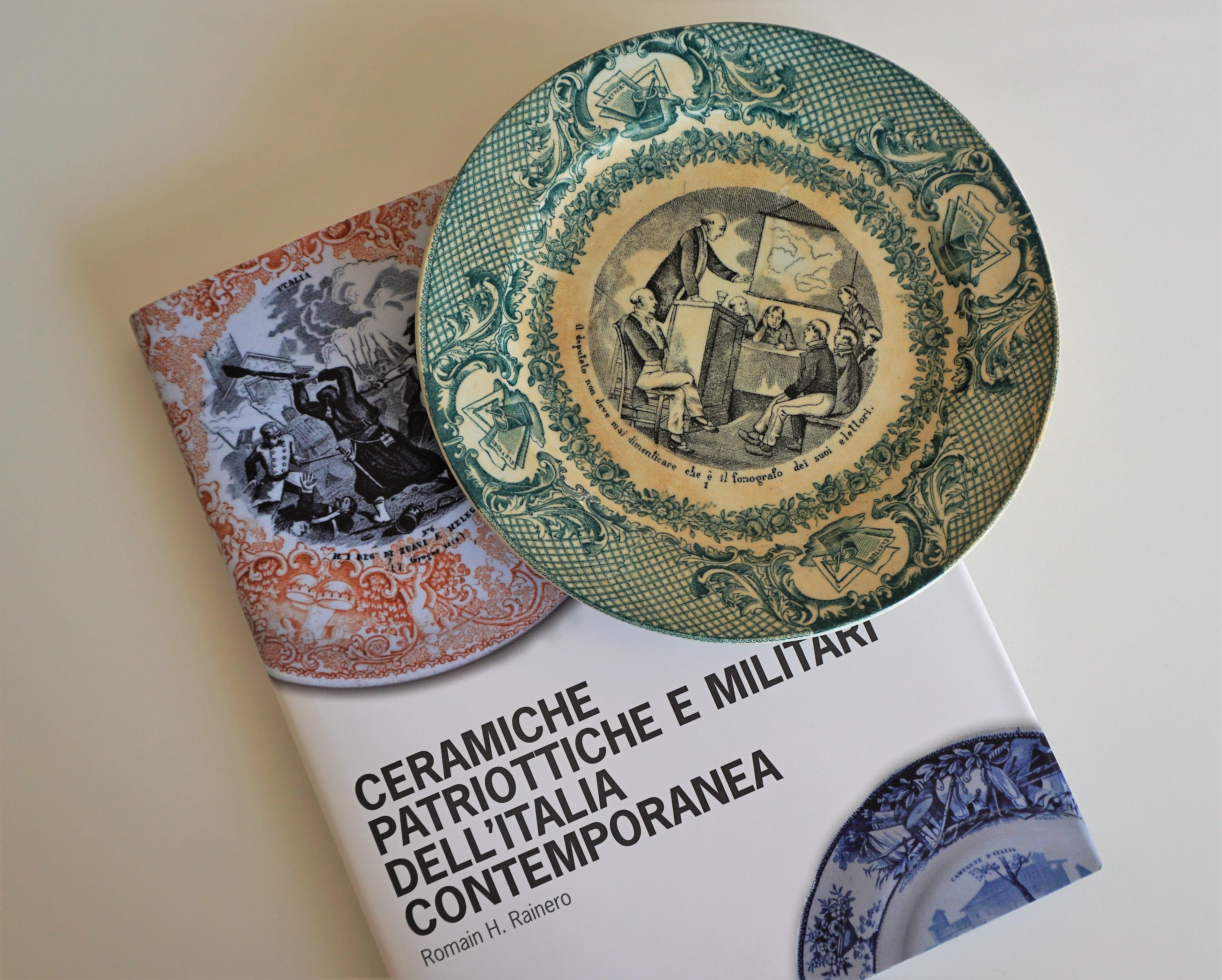 Ceramica vintage spodes italian landscape spode servire zuppiera