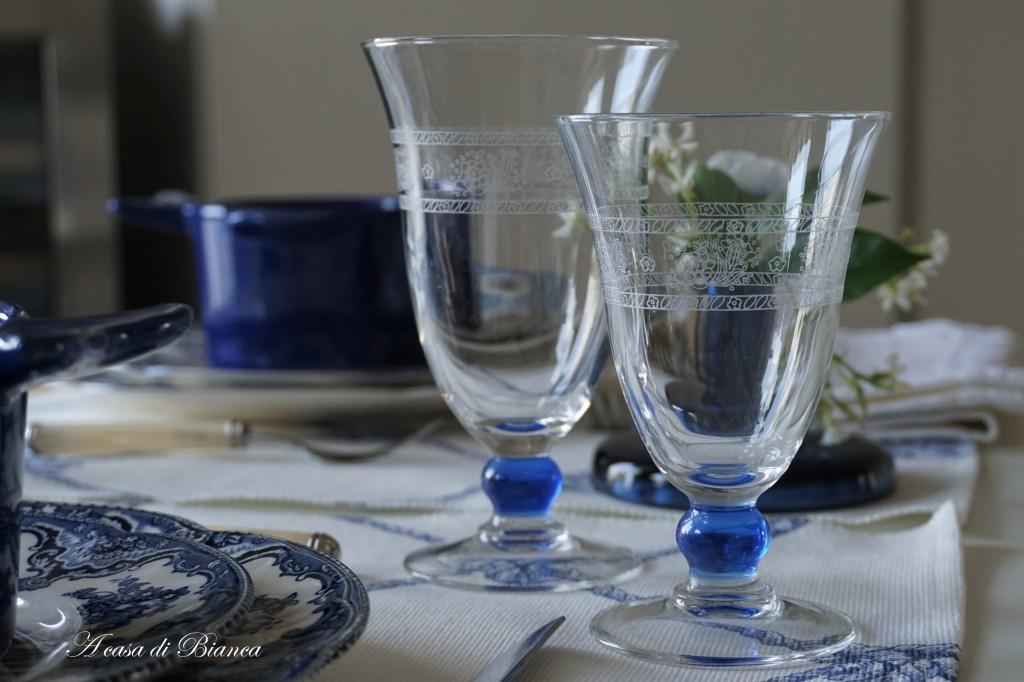 Apparecchiare la tavola il risiko dei bicchieri a casa - Disposizione bicchieri in tavola ...