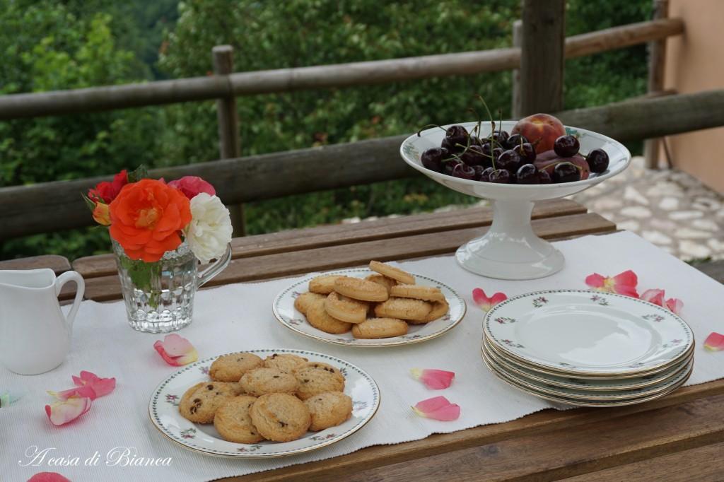 Tea Garden party vintage a casa di Bianca