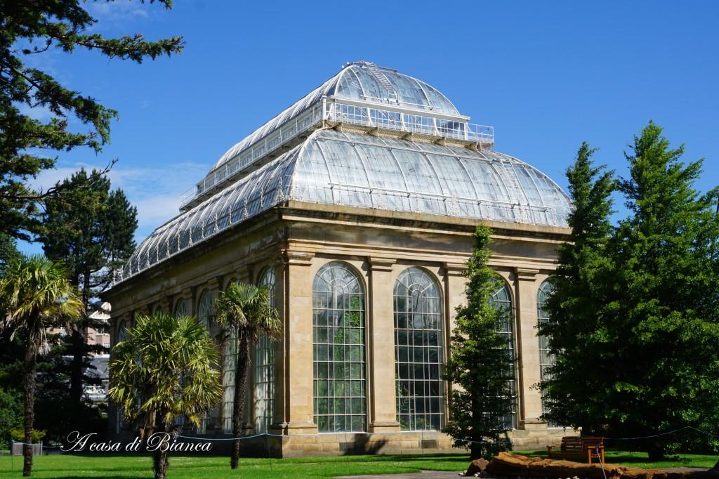 Serra vittoriana al Royal Botanic Garden Edimburgo
