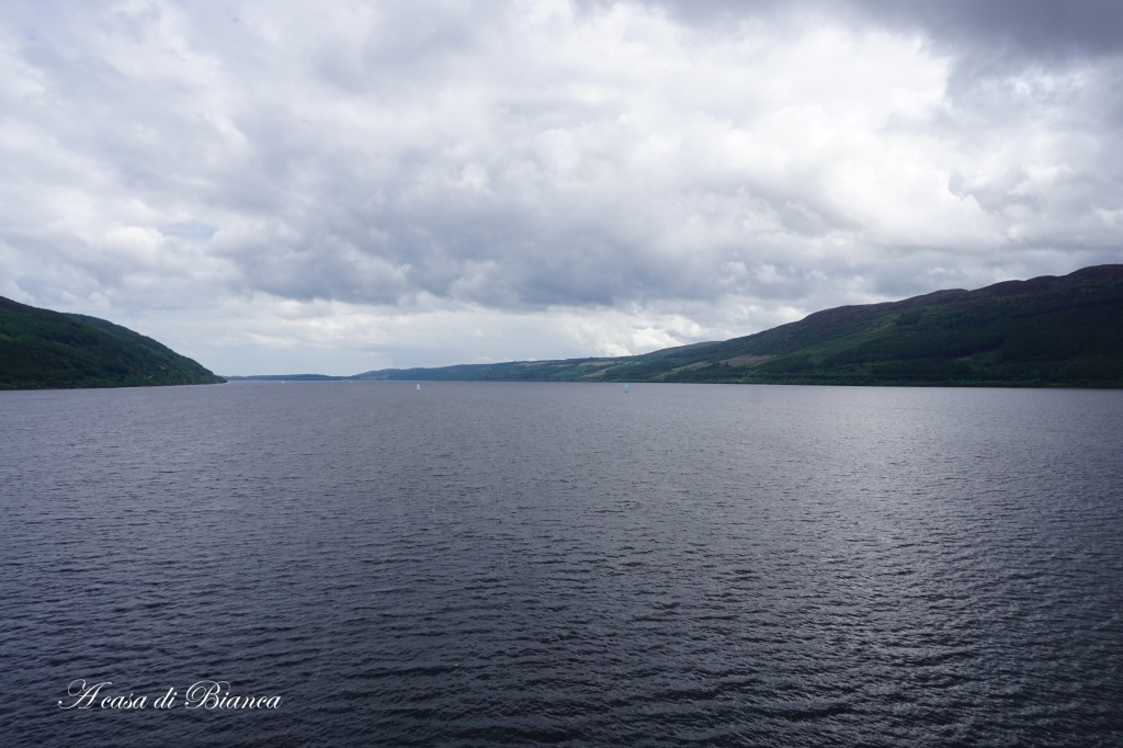 Looking for Nessie at Loch Ness
