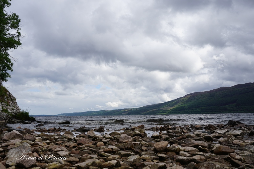 Loch Ness at Urquhart Castle