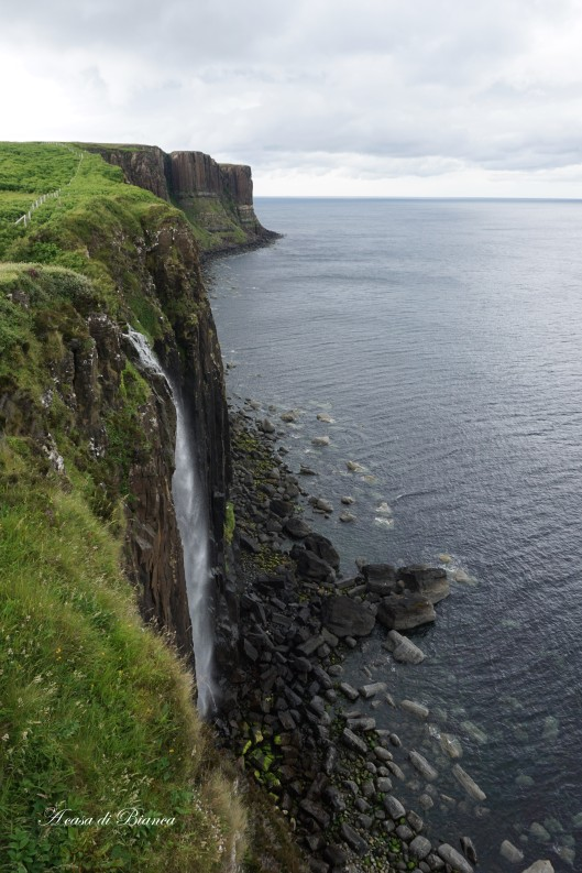 Kilt rock Isle of Skye