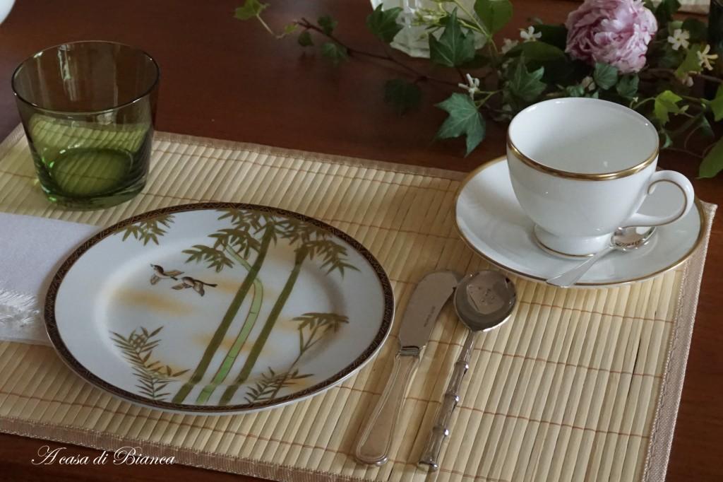Tavola da tè stile orientale
