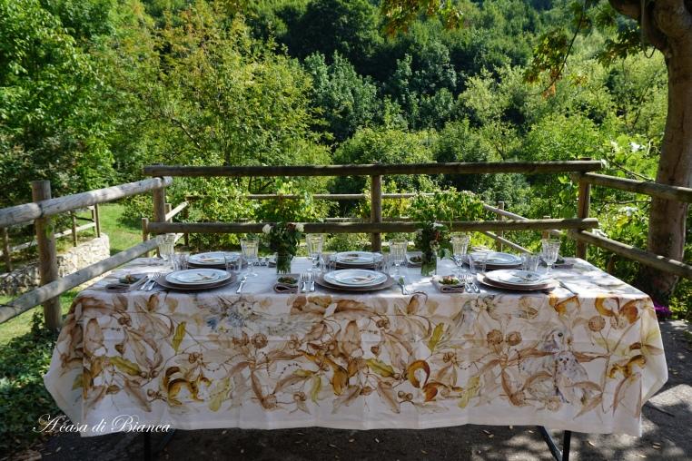Fall tablescape blog hop a casa di Bianca