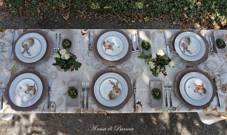 Fall tablescape a casa di Bianca