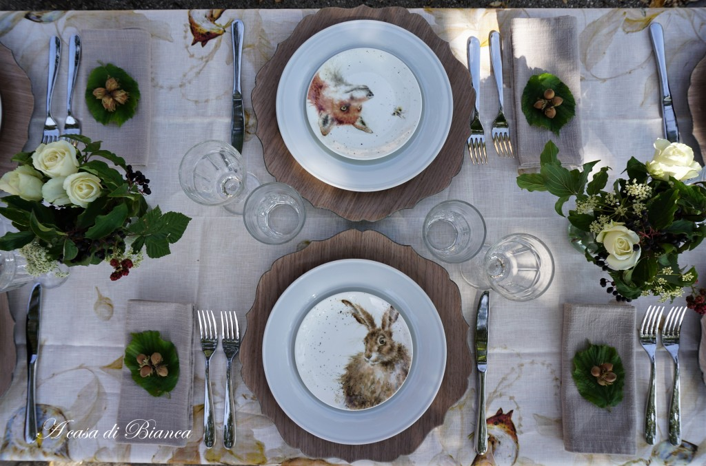 Fall tablescale Wrendale Design a casa di Bianca