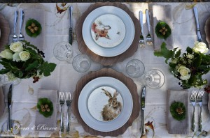 Fall tablescale Wrendale Design a casa di Bianca