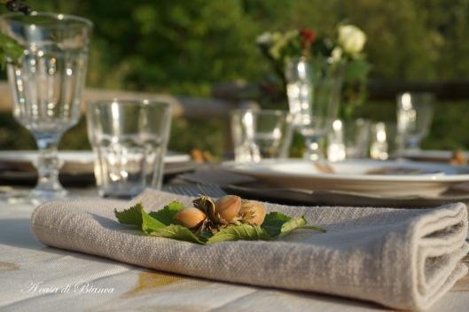 Hazelnut placemat a casa di Bianca