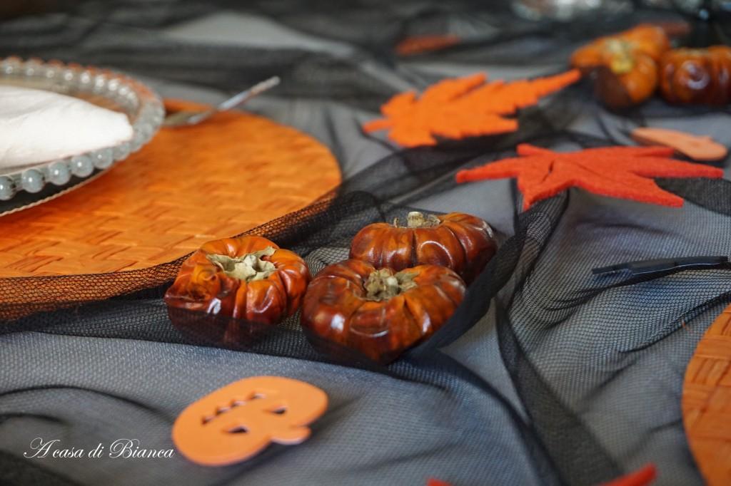 Tavola di Halloween a casa di Bianca