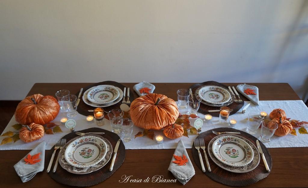 Giorno del Ringraziamento a casa di Bianca