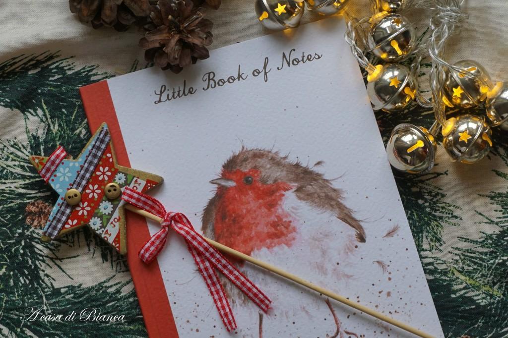Quaderno di Natale a casa di Bianca