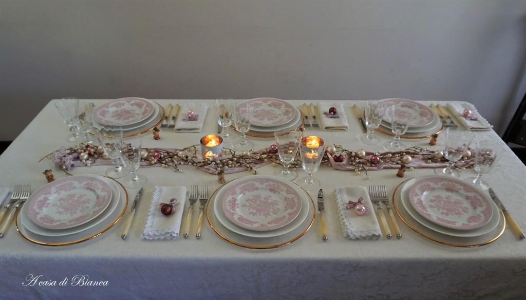 Christmas in pink a casa di Bianca