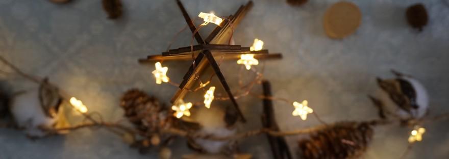 Luci di Natale a casa di Bianca