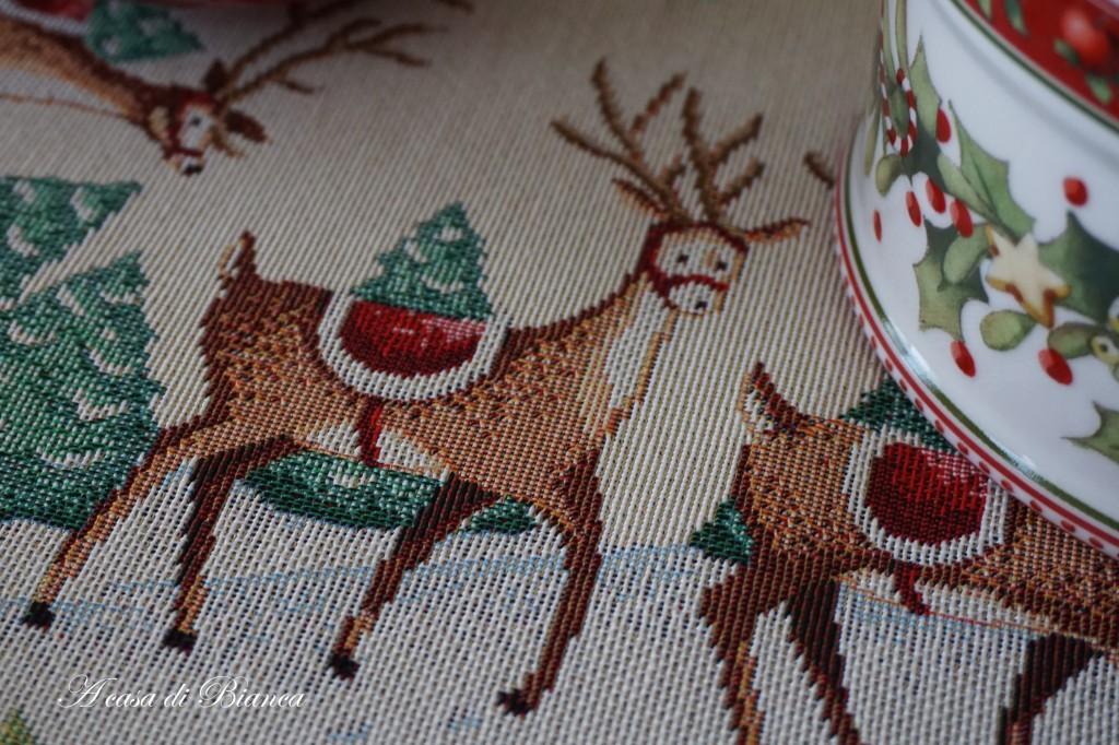 Tovaglia di Natale a casa di Bianca