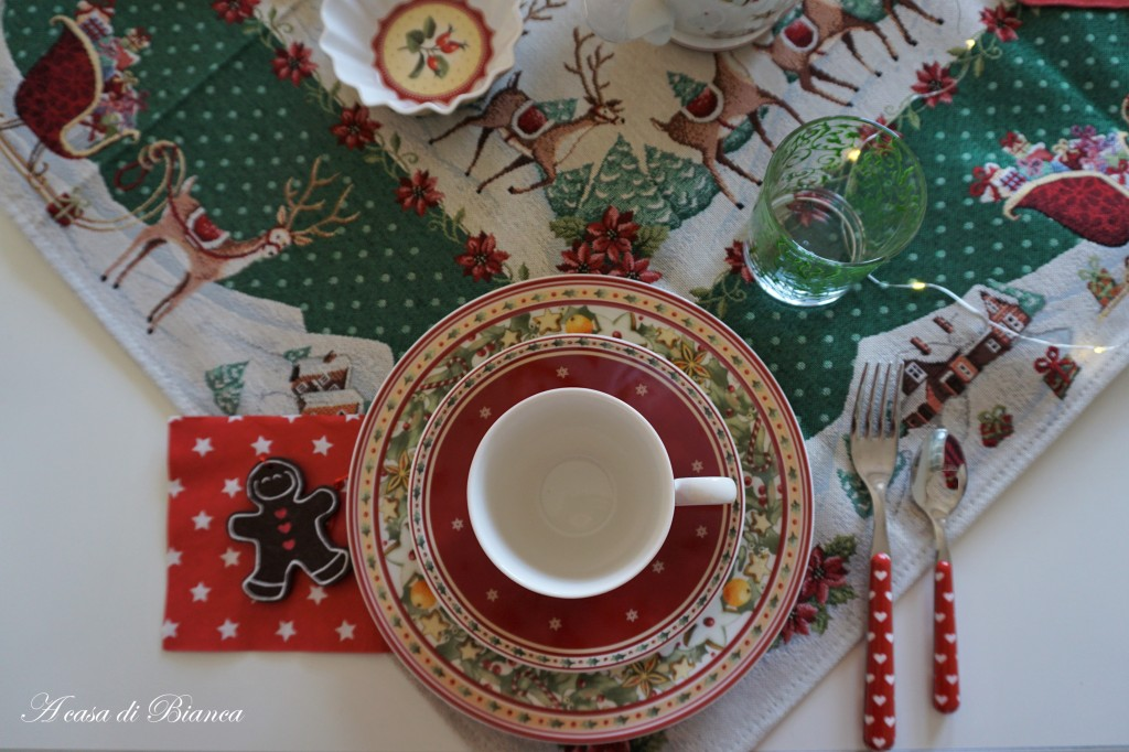 Colazione di Natale Villeroy & Boch a casa di Bianca