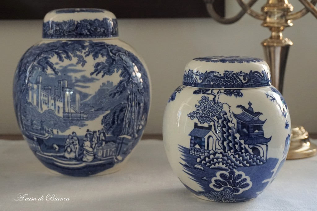 Ginger Jars inglesi a casa di Bianca