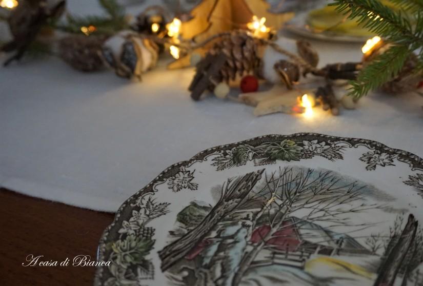 Tè d'inverno vintage a casa di Bianca