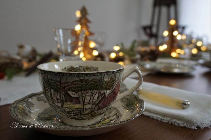 The Friendly Village teacup a casa di Bianca
