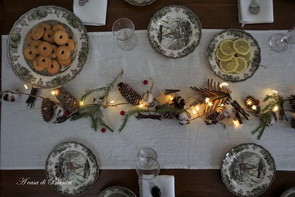 Tè invernale vintage a casa di Bianca