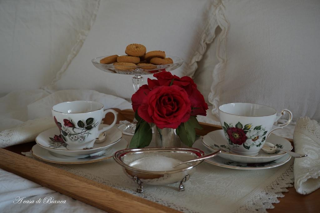 Colazione a letto per San Valentino a casa di Bianca
