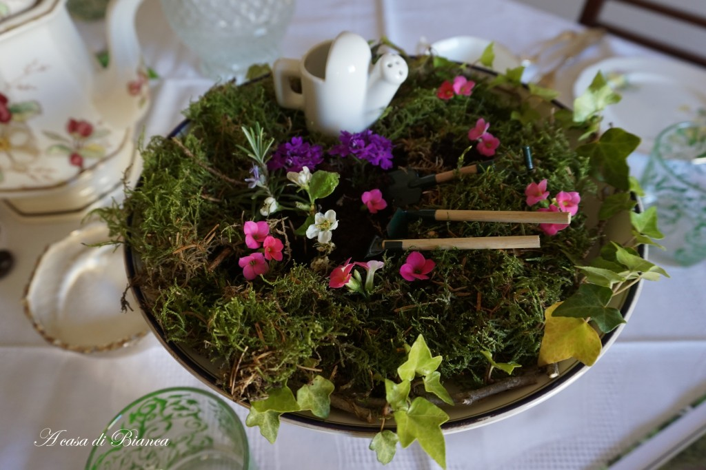 Centrotavola di Pasqua a casa di Bianca
