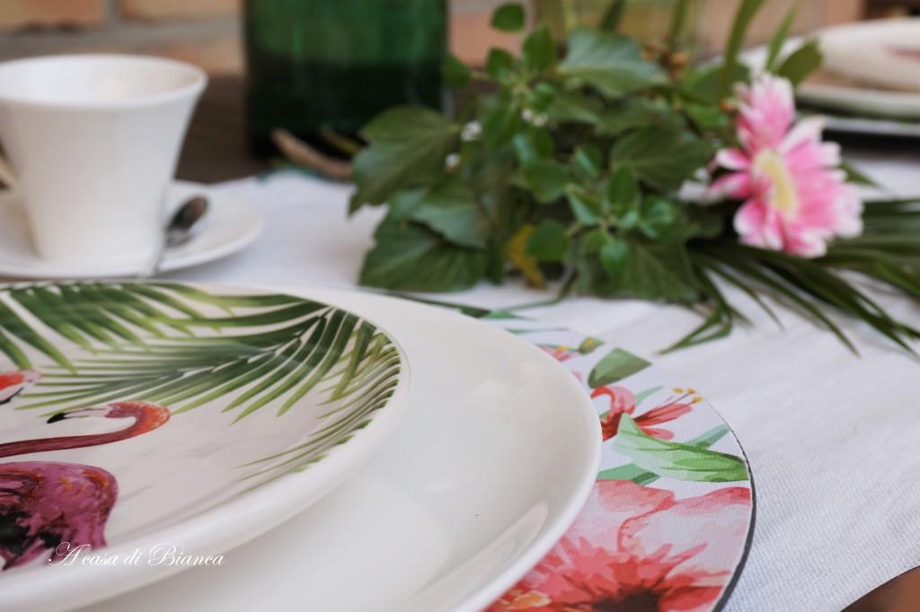 tavola esotica a casa di Bianca