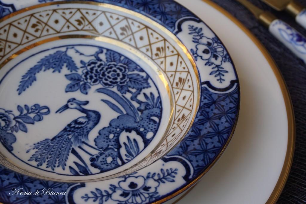 Colazione in bianco e blu a casa di Bianca