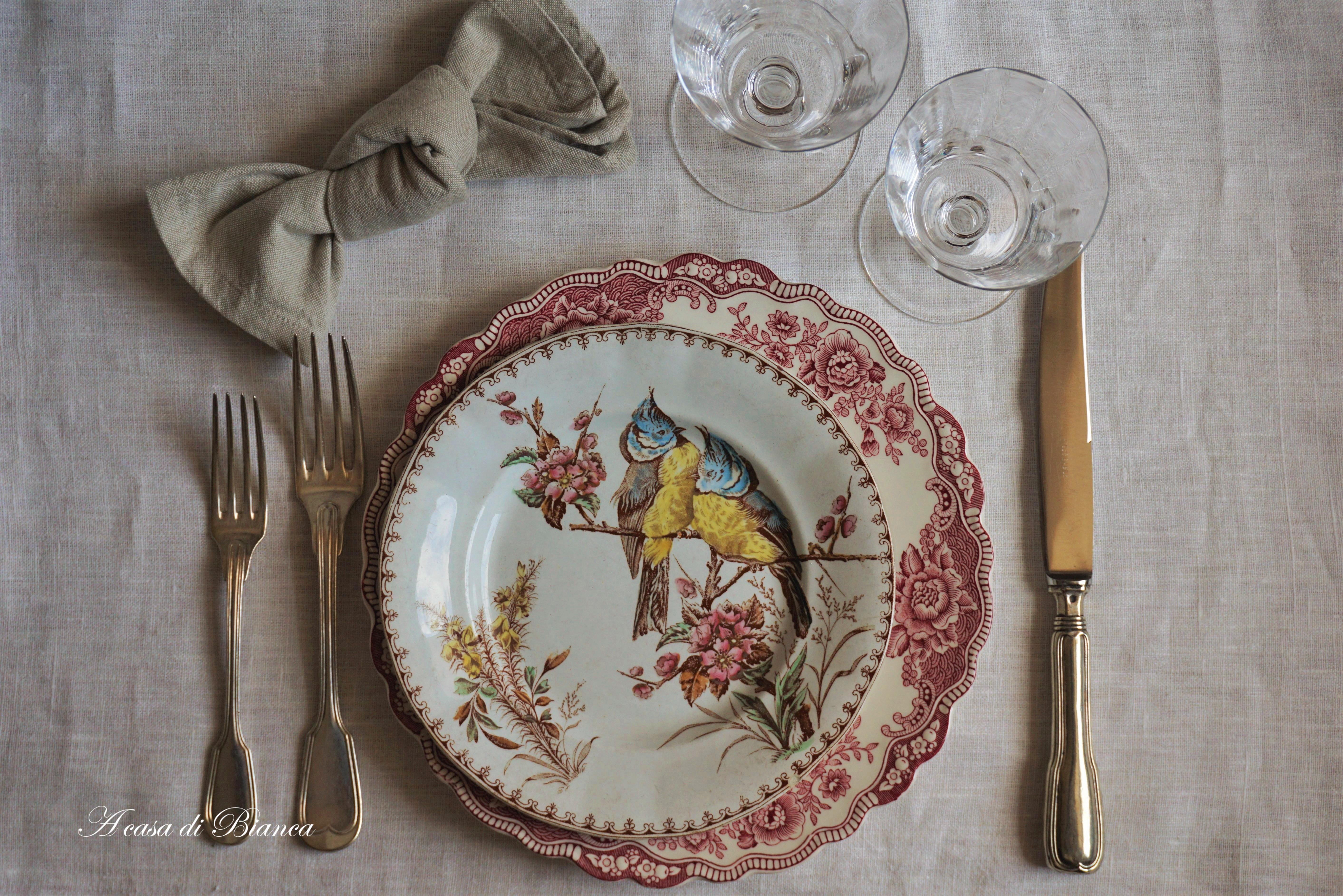 Galateo Tovagliolo A Destra arte della tavola. nuove mode in tavola – a casa di bianca