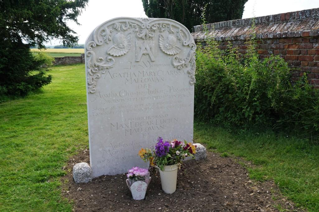 Agatha Christie tomba