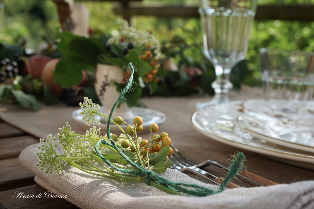 Fall tablescape blog hop a casa di Bianca