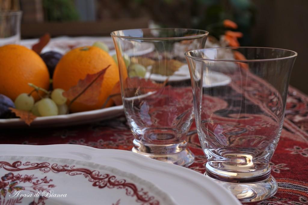 Tavola d'autunno a casa di Bianca