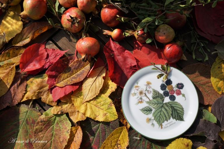 Arte della tavola. Folle foliage - A casa di Bianca