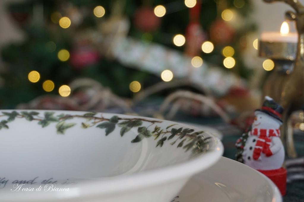 Natale country nel bosco a casa di Bianca
